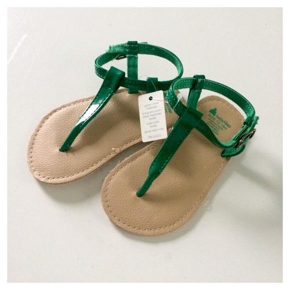 d627ab10c601 12-18M Emerald Green Sandals